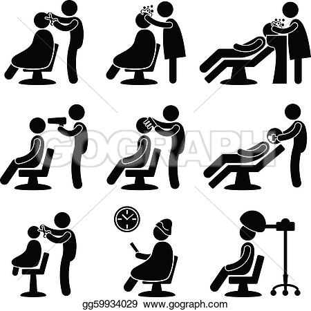 Hair clipart parlor #14