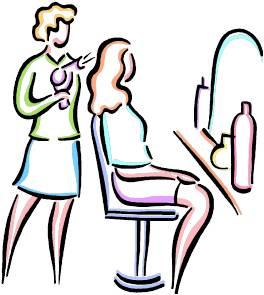 Hair clipart parlor #5