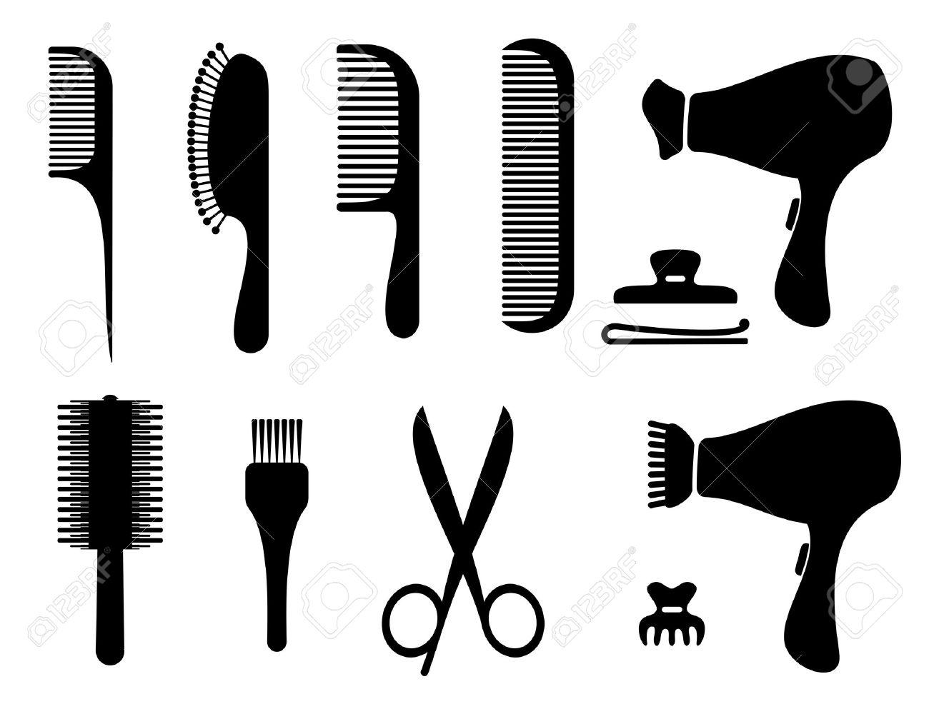 Hair clipart parlor #6