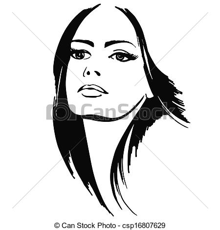Hair clipart pretty lady Lady Clip Images Free Panda