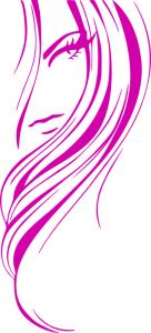 Hair clipart purple Art Hair Girl Clip Download