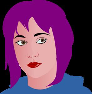 Hair clipart purple Art clip Hair com vector