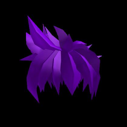 Hair clipart purple Purple ROBLOX 3D Hair Awesome