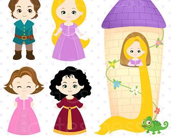 Tower clipart rapunzels #3