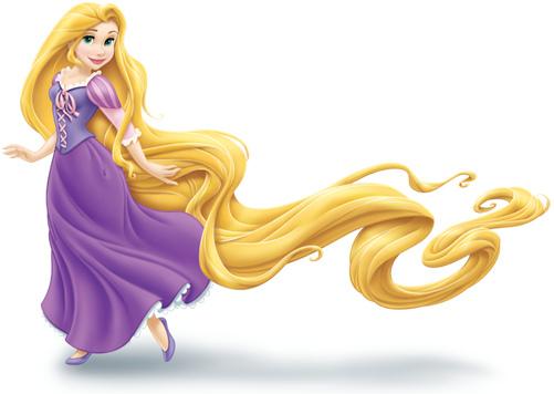 Hair clipart rapunzel Imagui  de princesa rapunzel