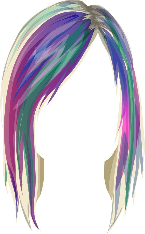 Hair clipart real PERUCAS best PERUCAS images on