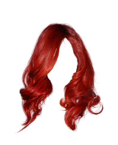Hair clipart real Polyvore Polyvore hair hair (2)