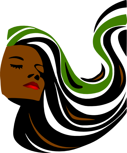 Hair clipart salon spa Hair vector as: image this