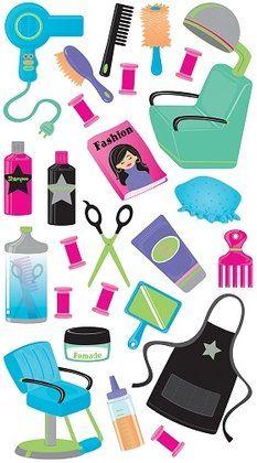 Hair clipart salon spa Stickers best Hair The At