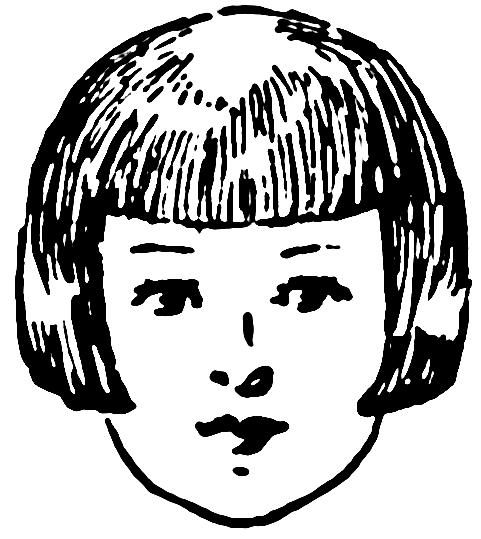 Hair clipart short hair #11