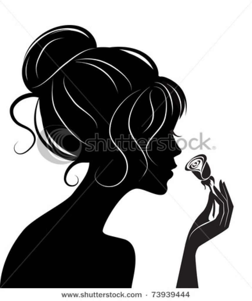 Hair clipart silhouette 394 up 470 clipart clipart