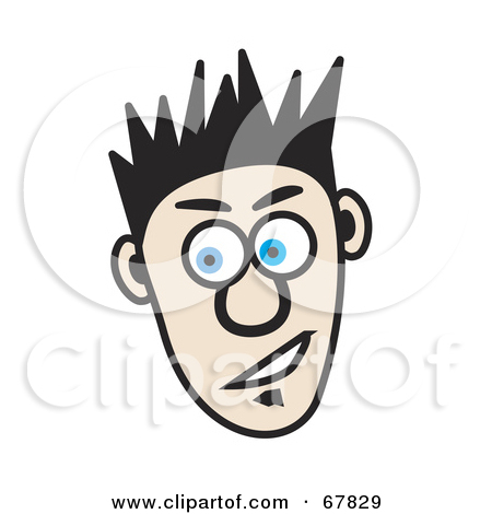 Hair clipart spiky hair Clipart Download Spiked Hair Spiked