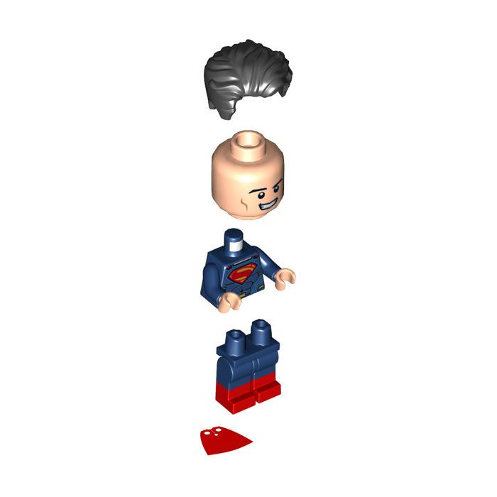 Hair clipart superman Black Hair Minifigure Red In