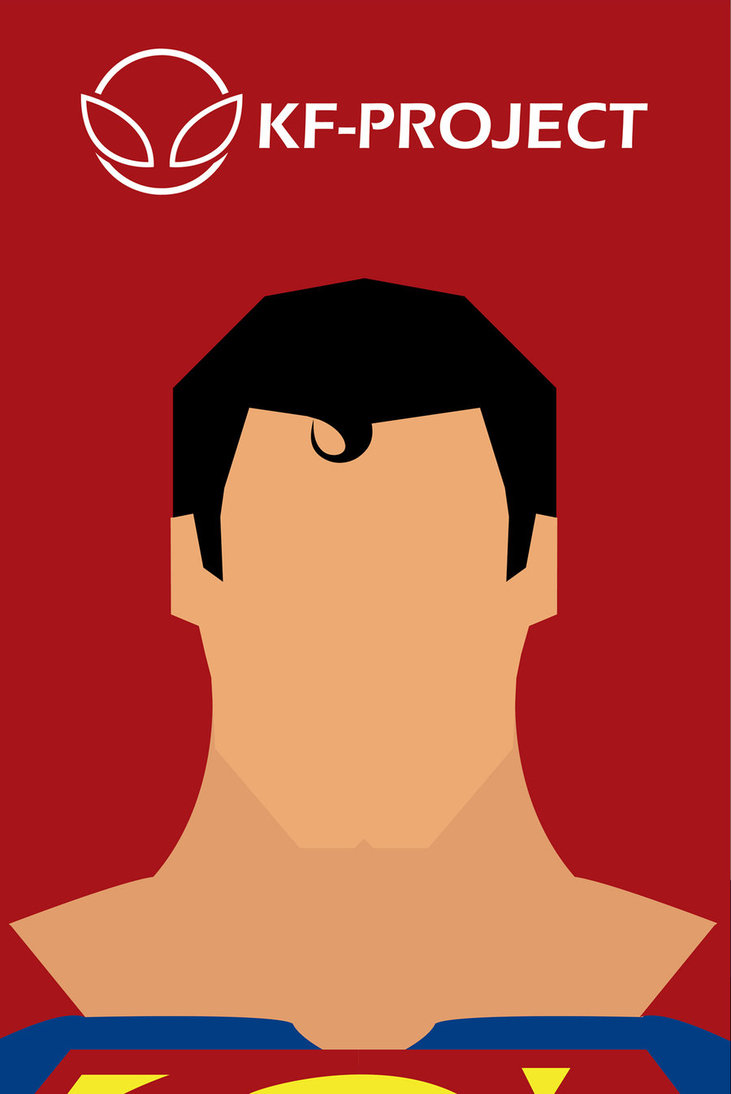 Hair clipart superman KF on Minimalist Project by