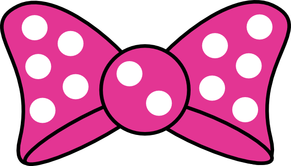 Pink Hair clipart ribbon Clip art Minnie clip vector