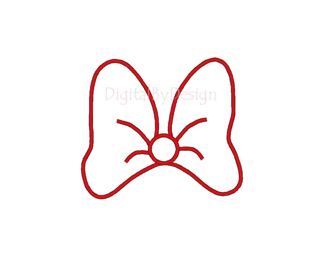 Mickey Mouse clipart bowtie #9