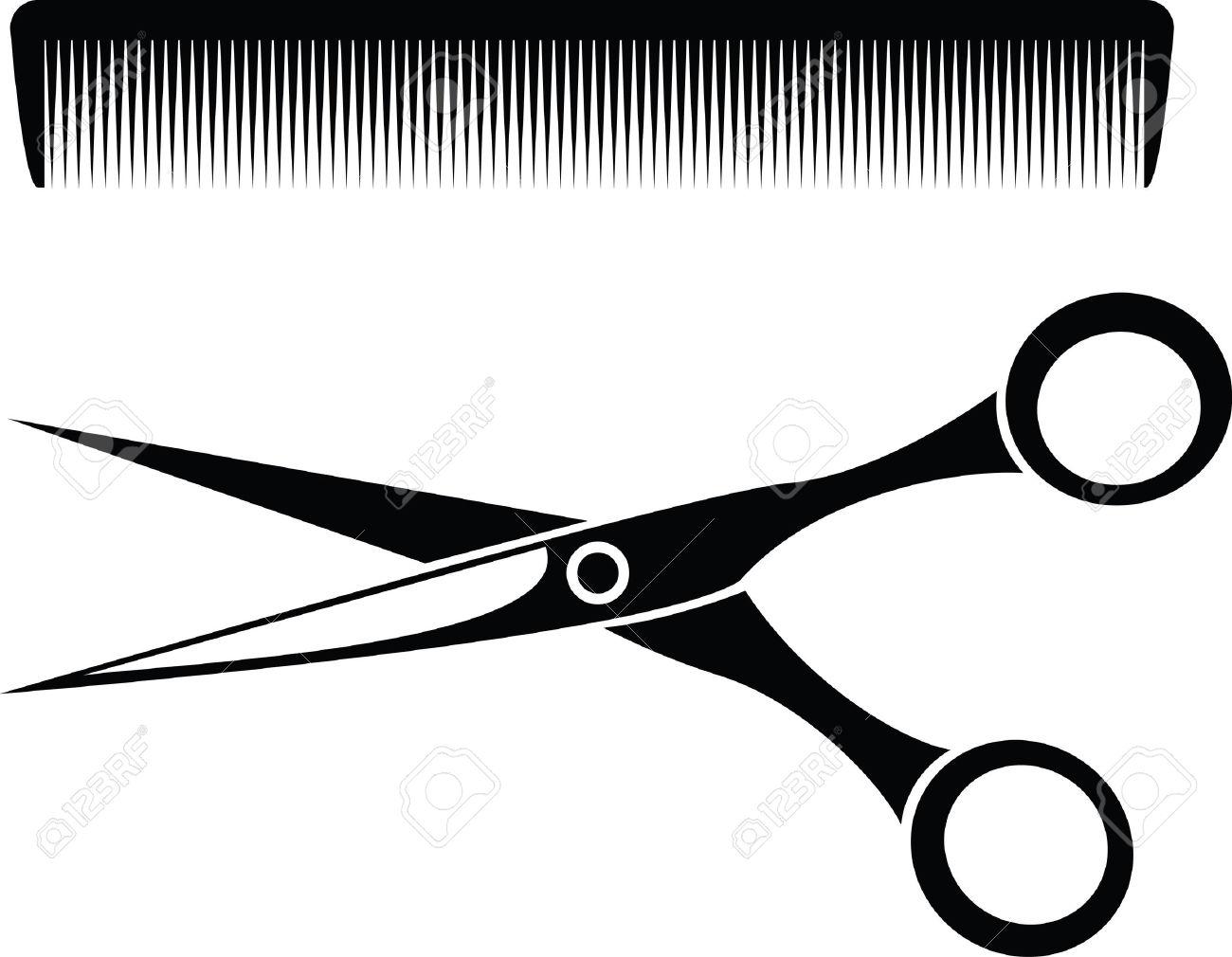 Hair clipart tool Barber Stock Barber 10 Vector