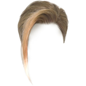 Hair clipart transparent background Hair Doll Parts: Polyvore Hair