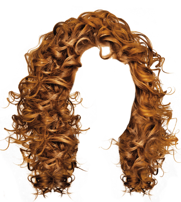 Hair clipart transparent background Curly Long image brown hair