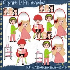 Hair clipart utensil Styling Clip Clip Gallery Styling