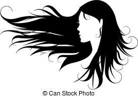 Hair clipart vector 567 Royalty Clipart Vector art