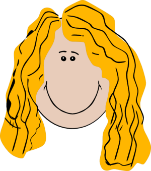 Hair clipart vector Clipart and Clipart Vectors Stock