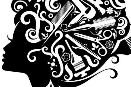 Hair clipart vintage salon Clipart DA Stylist Clipart Retro