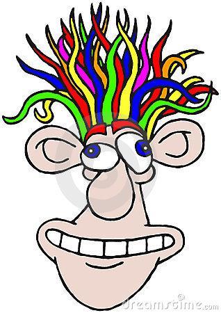 Hair clipart wacky hair Hair Day Download Wacky Wacky