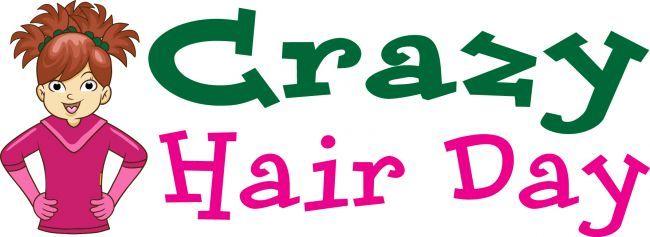 Hair clipart wacky hair Hair PTO  Crazy Art