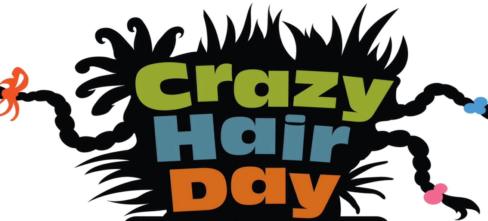 Hair clipart wacky hair Day Barringer crazy hair Hair
