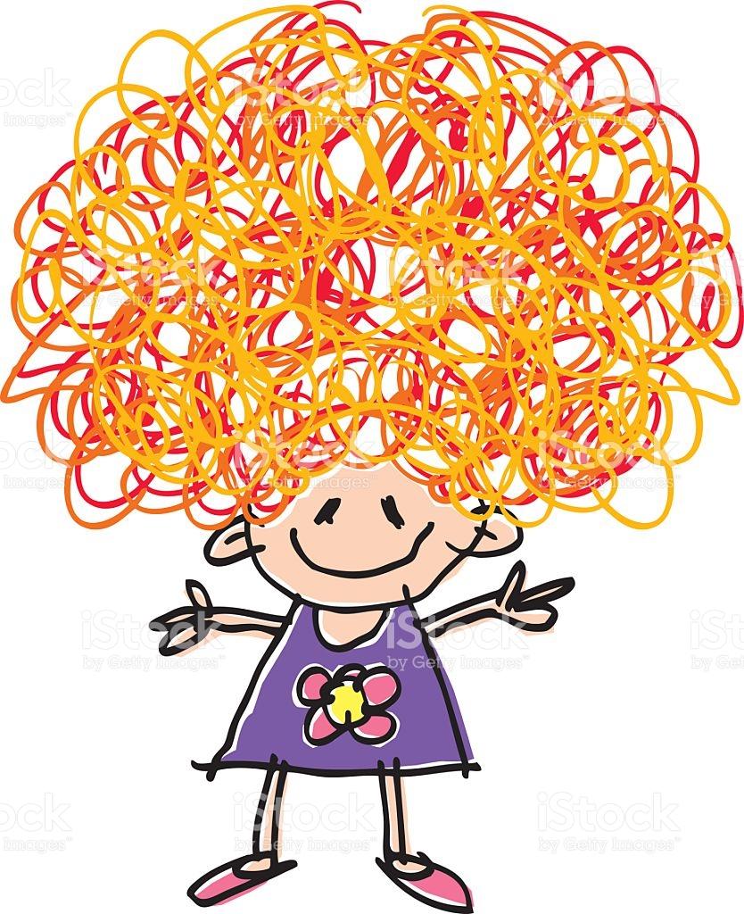 Hair clipart wacky hair Of Cliparts Clip Art Crazy