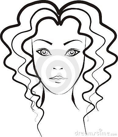 Hair clipart wavy Clipart Hair Clipart Images Free