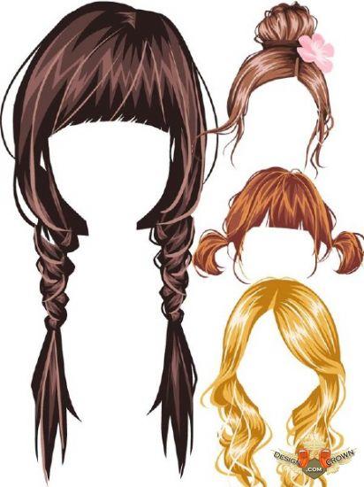 Brown Hair clipart black hair wig Clipart Clipart Black black%20hair%20wig%20clipart Free