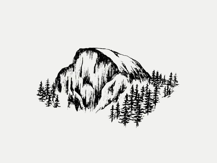 Half Dome clipart Half Dome Logo Pinterest Dome Half images Tattoos