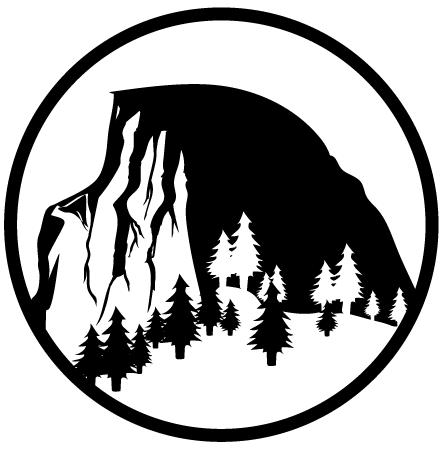 Half Dome clipart Half Dome Logo Central  Ensemble Wind California