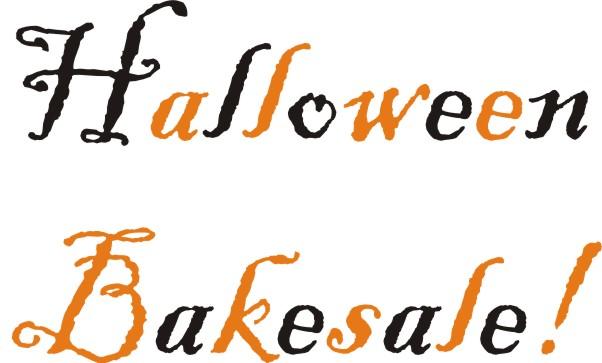 Halloween clipart bake sale Halloween Clipart Halloween Bake Bake
