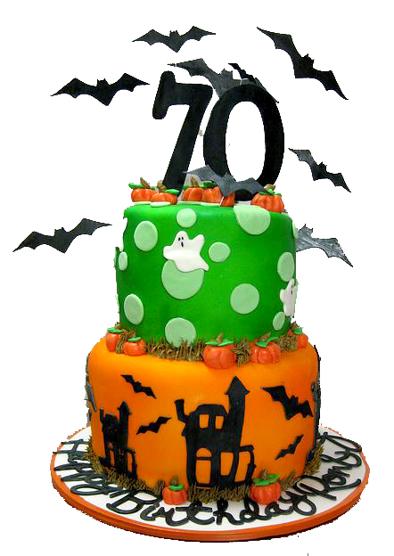 Halloween clipart birthday cake To Fred! in Halloween cake