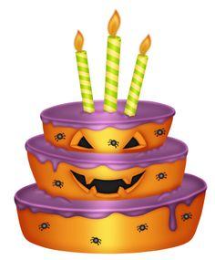 Halloween clipart birthday cake  CLIPART * http://rosimeri CUPCAKE