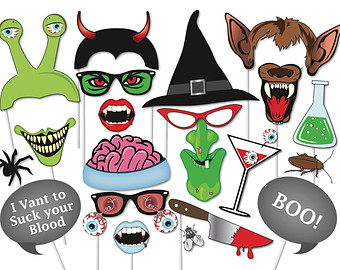 Halloween clipart photo booth Photo Witch Halloween booth 37