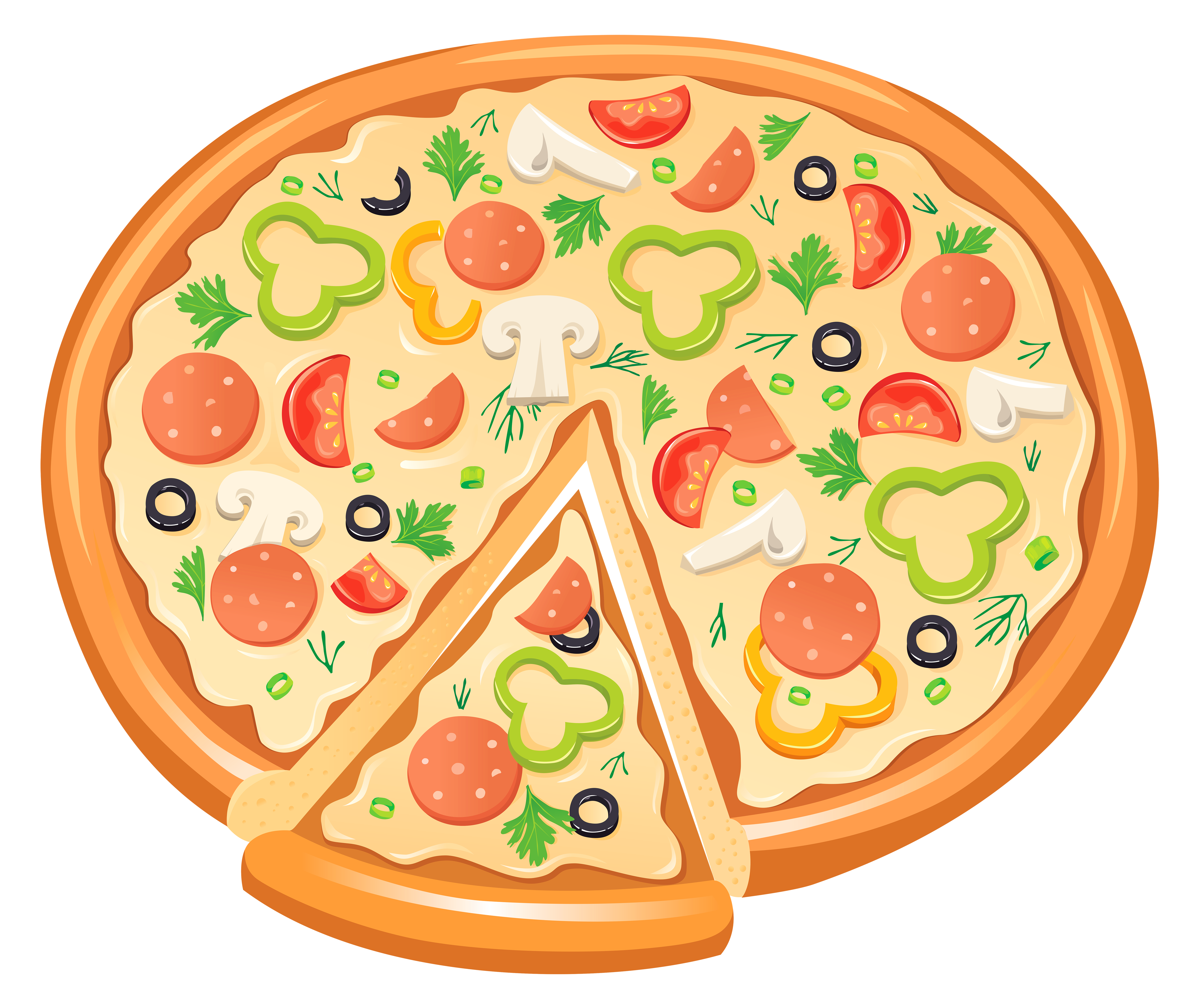 Halloween clipart pizza Free  Image View Quality