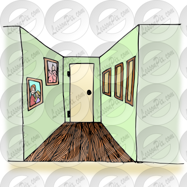 Hallway clipart Clipart Classroom for Picture /