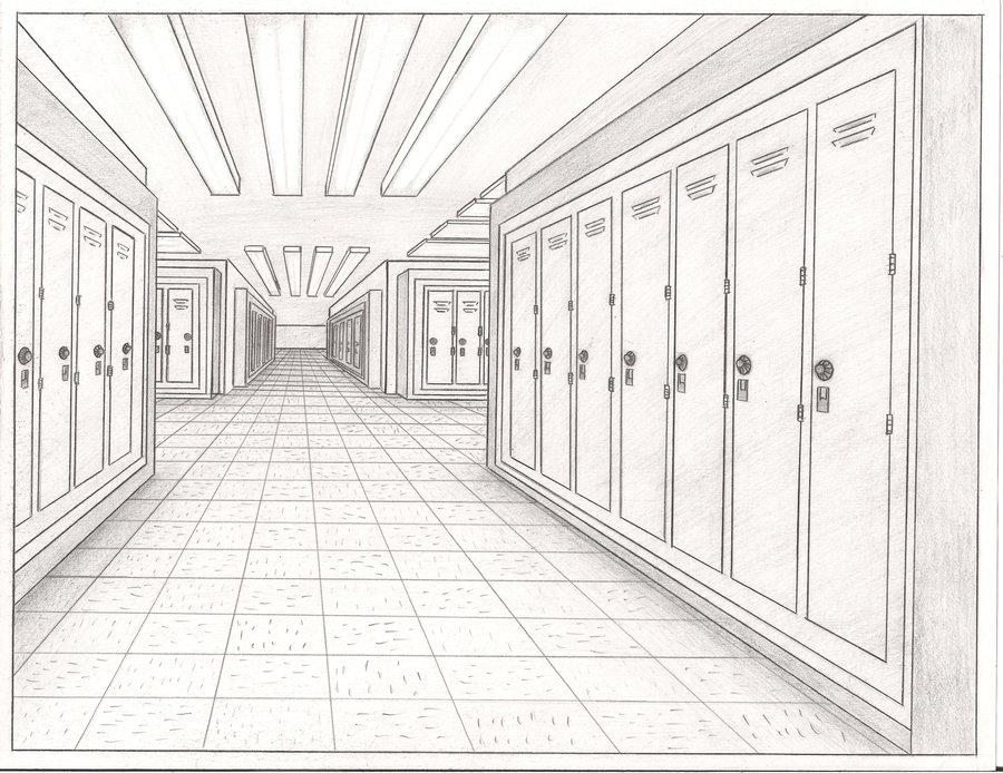Hallway clipart TheAljavis a by Hallway on