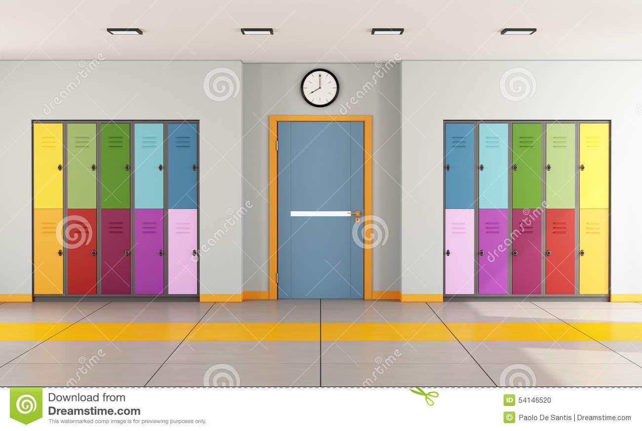 Hallway clipart animated Door Classroom  Door Clipart