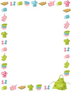 Baking clipart border On  art this downloads