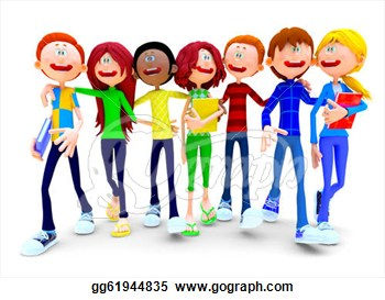 Crowd clipart group student Clipart (62+) Working art Groups