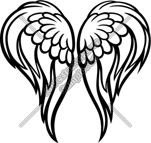 Halo clipart angelic Panda wings Free Angel Angel