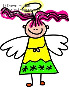 Halo clipart angelic Her An Little Angelic Looking