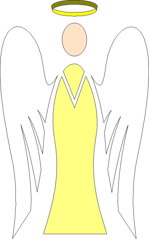 Halo clipart angelic Angels Clipart 3 Angel with