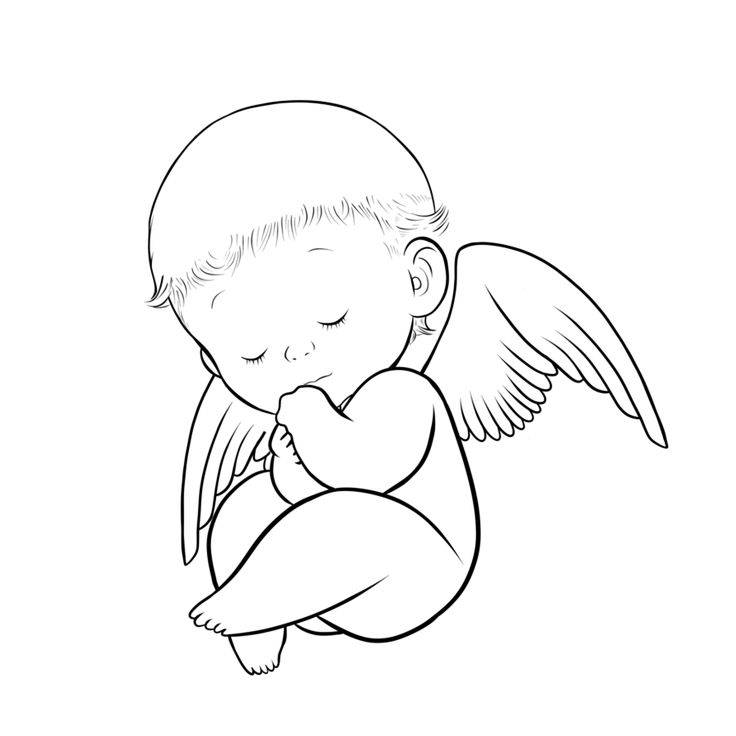 Halo clipart baby angel wing Baby on Clipart Baby Angel