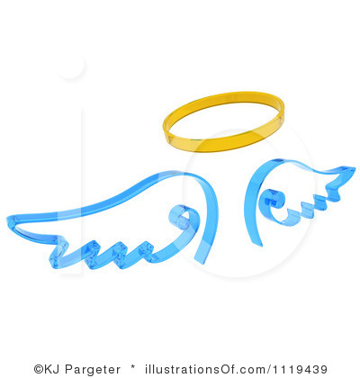 Halo clipart baby angel wing Angel Halo Clipart Wings Bay
